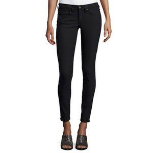 Rag & Bone Equestrian Black Skinny Jean